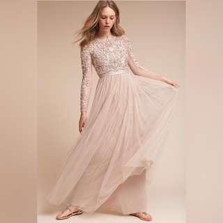 35%off-Needle & Thread Beaded Long Sleeves Dress