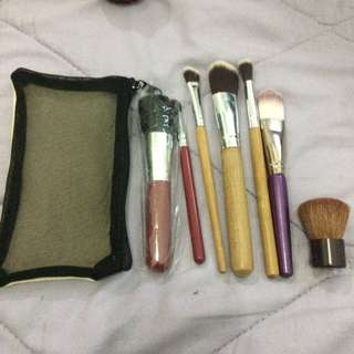 Brush SK II + Macem2 brush + Mini Pouch