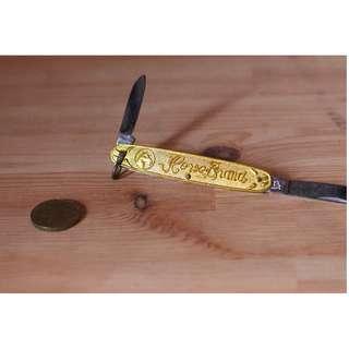 🚚 Vintage Horse Brand Swiss Knife