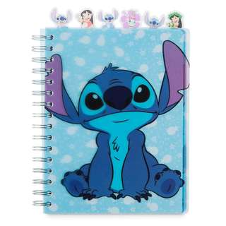 Stitch Spiral Notebook