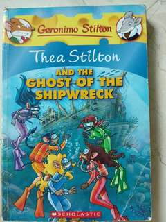 Geronimo Stilton: Thea Stilton and the Ghost of the Shipwreck