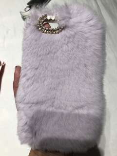 Fur iPhone Case (6s) - light purple