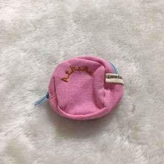 粉紅零錢包