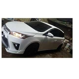2015年 Toyota Yaris 白✅0頭款 ✅免保人✅低利率✅低月付 FB搜尋:阿源 嚴選二手車/中古車買賣