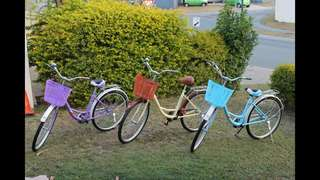 Awesome beach cruisers
