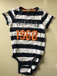 H&M Stripe Body Suit