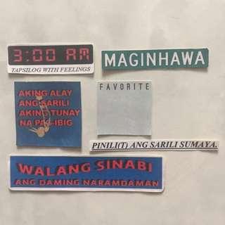 Stickers (Ang Bandang Shirley)