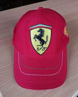 Ferrari Cap (Authentic) Red
