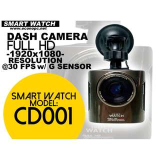 Smart Watch CAR Dash Camera with G-Shock and WDR Function