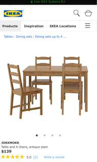 Dining table (Moving sell)