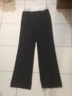 Zara basic black pants