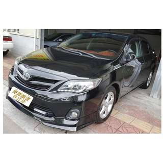2013年 豐田 ALTIS 1.8 歡迎試車 免頭款全額貸