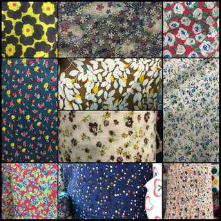 English Cotton Kain Pasang