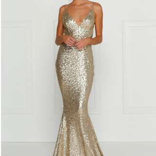 Alamour The Label Yassmine Mermaid Gown