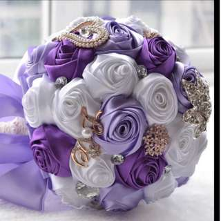 🚚 Wedding / Propose Bouquet Rose Bouquet Flower for Gifts Valentines Day Bridal Wedding Gifts
