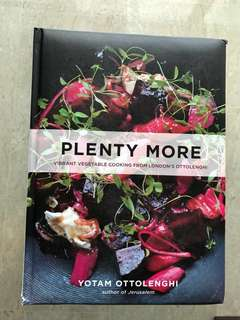 """Plenty More"" Cookbook by Yotam Ottolenghi"