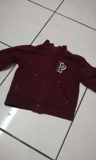 PONEY Sweater Maroon 6-12m