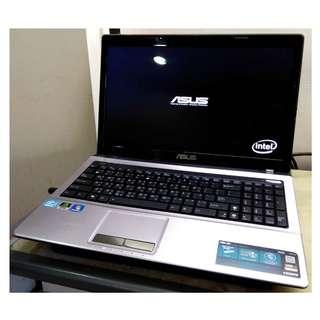 ASUS i5二代 X53SD 四核心 15.6吋 高階i5 獨顯效能機 筆記型電腦