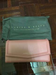 Charles & Keith Wallet(Pink)
