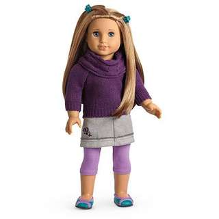 American Girl McKenna School Outfit