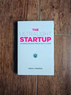Ultralight Start-Up Hardbound Book
