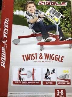 BNIB Radio flyer ziggle ride on
