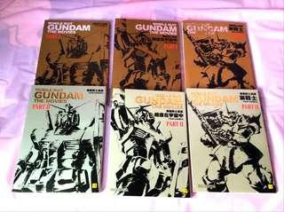 機動戰士 漫畫 六本 全彩頁 Gundam
