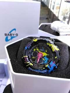 Casio Baby-G BA-120SPL-1ADR 塗鴉