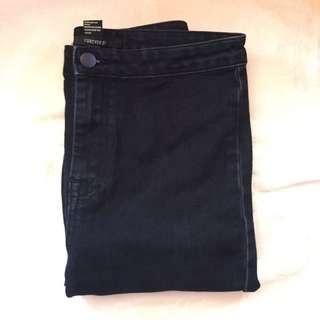 FOREVER 21 BLACK HIGHWAIST PANTS