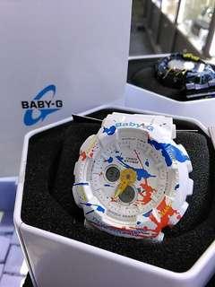 Casio Baby-G BA-120SPL-7ADR塗鴉