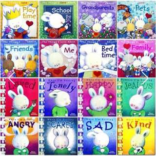(Ready Stock) 16 Books Set - When I'm Feeling & The Things I Love series
