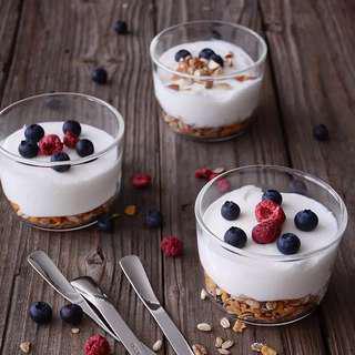 Scandinavian Minimalist Dessert Cup