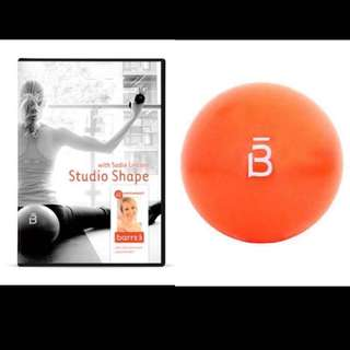 ❗️ REPRICED! 🌟 BRAND NEW Barre 3 Ball and DVD Bundle