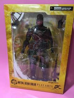 Play Arts Kai Metal Gear Solid Peace Walker Naked Snake Big Boss Jungle Fatigues Ver.