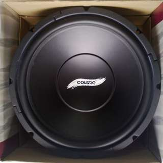"USA Coustic 12"" Power Logic U-Series Component Woofer"