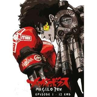 Megalo Box Ep 1-13 End Anime DVD