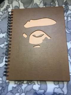 初期Bathing ape /notes book 📖 收藏品