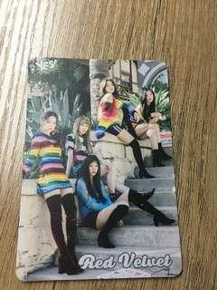 Red velvet,seventeen,nct 127,孔劉yes card