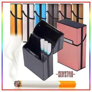 🚚 #50▪📦▪(🅿re🅾rder)▪📦▪ NEW Aluminum Cigarette Tobacco Holder Storage Case Pocket Box(6 Colors) HEA