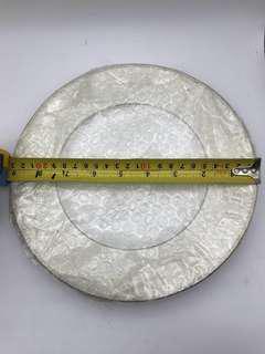 舊 匯豐銀行 9吋 圓瓷碟