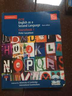 IGCSE English as a Second Languange coursebook 1 third edition