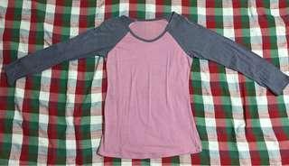 Pink & Gray Raglan