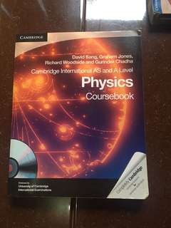 Cambridge AS and A level Physics Coursebook with CD
