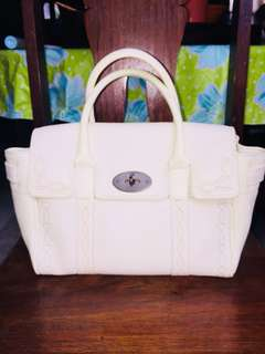 Authentic Mulberry Bayswater Rare embroidered design