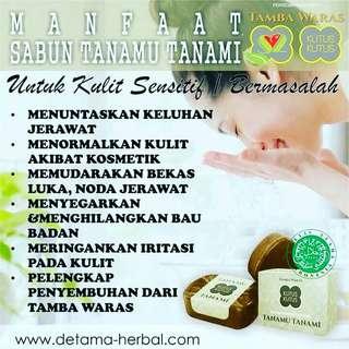 Sabun Tanamu Tanami Asli dari Bali | Terbuat dari Herbal dan Rempa2 asli 100% | Tlp or Wa : 081386294009