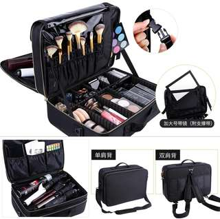 Makeup Bag & Trolley (Both)