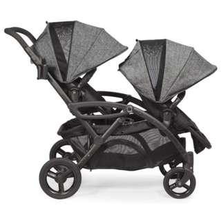 Brand New Contours Options Elite Tandem Stroller