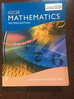 IGCSE Mathematics Second Edition