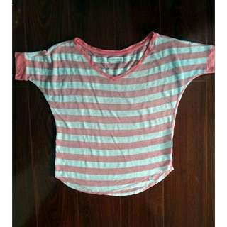 Women's Shirt Scoop Neck Blouse Abercrombie Fitch