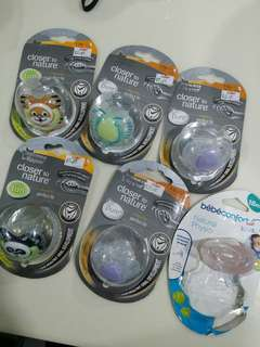 Tommee Tippee pacifier ( RM10 each if take all for RM50)